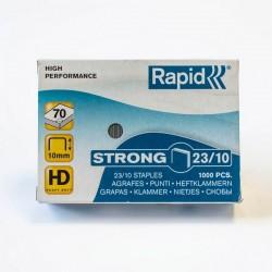 Zszywki Rapid 23/10 Strong - opakowanie 1.000 sztuk