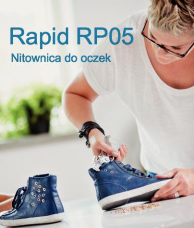 RAPID RP05 Oczkownica do nitów rurkowych Ø 4 mm